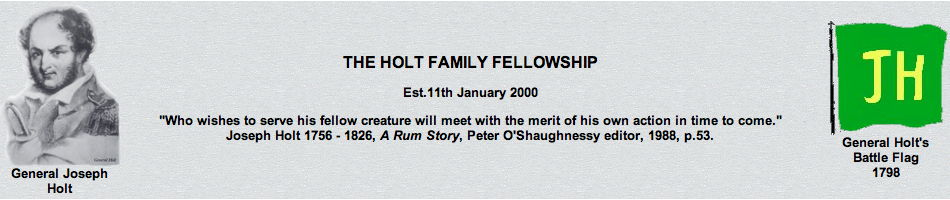 THE HOLT FAMILY FELLOWSHIP